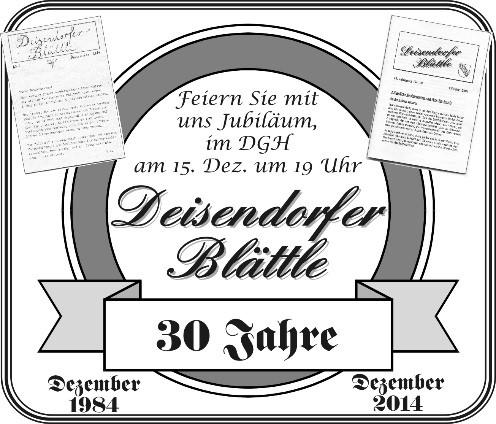 Deisendorfer Blättle